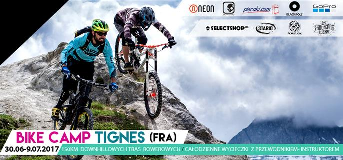 Bike Camp w Tignes 2017