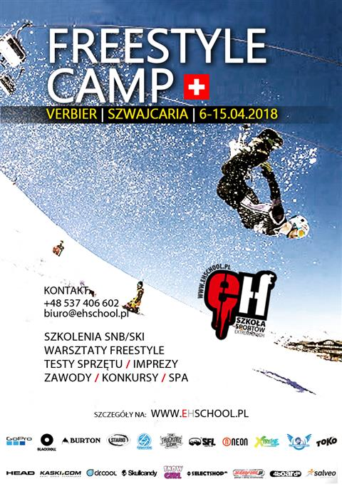 Freestyle Camp Verbier