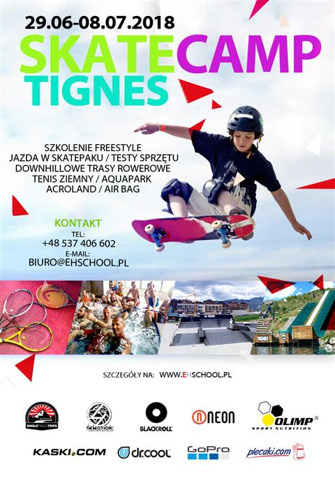 Skate Camp Tignes