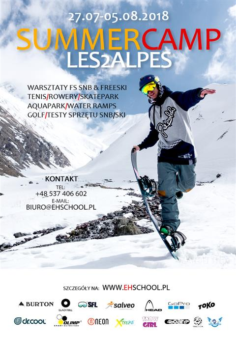 Summer Camp Les2Alpes 2018