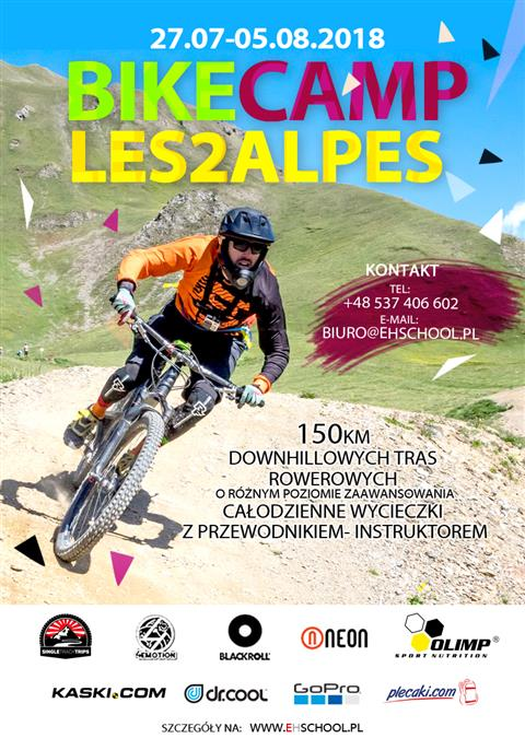 Bike Camp Les2Alpes 2018