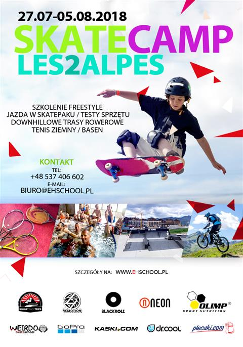 Skate Camp Les2Alpes