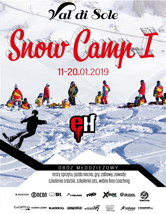 Snow Camp Val di Sole I - obóz
