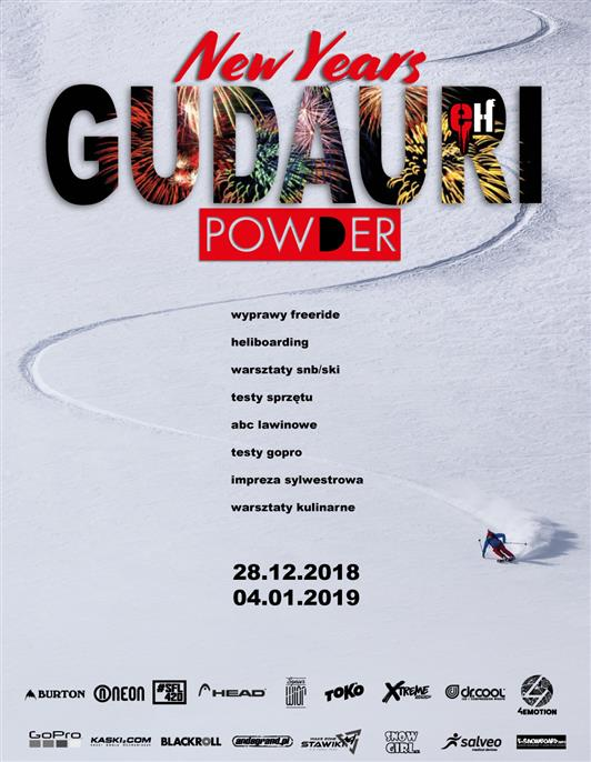 New Years Powder Gudauri