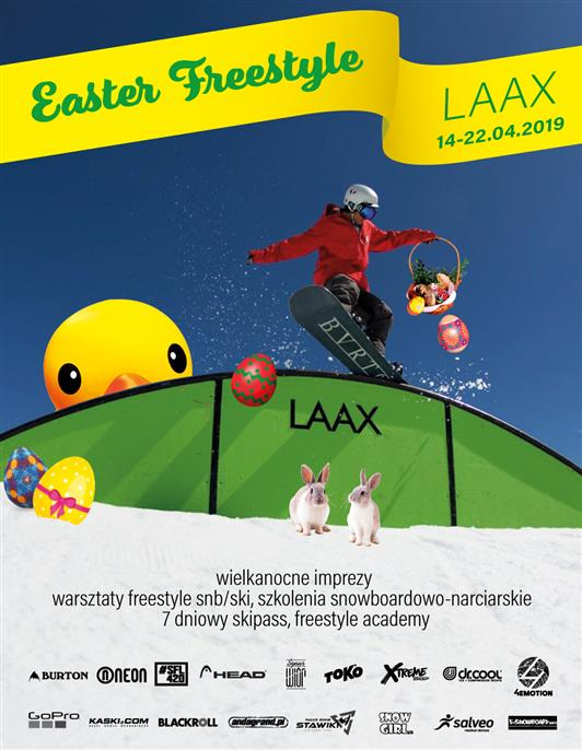 Easter Freestyle Laax