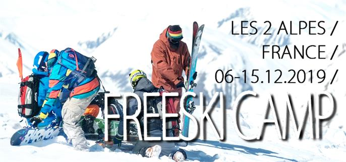 Freeski Camp - Les 2 Alpes 2019