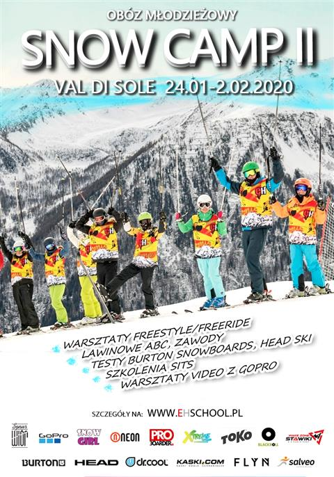 Snow Camp Val di Sole II obóz 2020