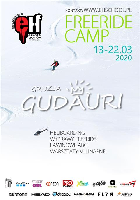 Freeride Camp w Gruzji 2020