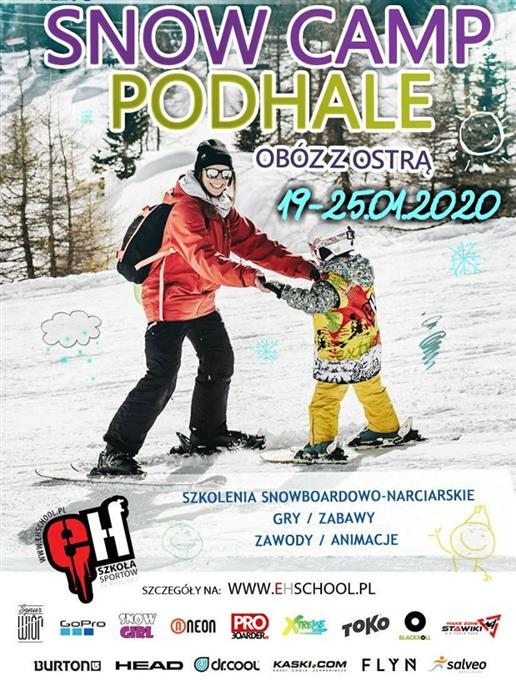Snow Camp Podhale z Ostrą 2020